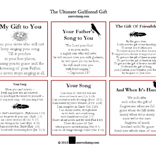 Ultimate Girlfriend Gift Cards – 1