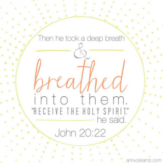 John 20:22