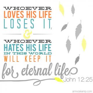 John 12:25
