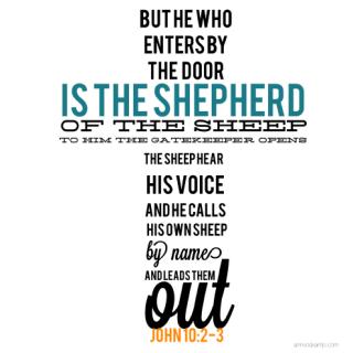 John 10:2-3