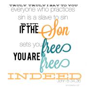 John 8:34,36