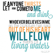 John 7:37-38
