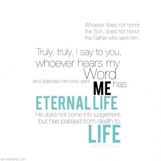 John 5:23-24