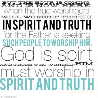 John 4:23-24