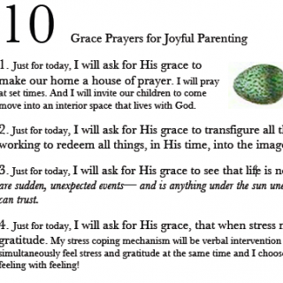 10 Grace Prayers for Joyful Parenting