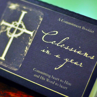 Colossians in a Year [A Commitment Booklet]