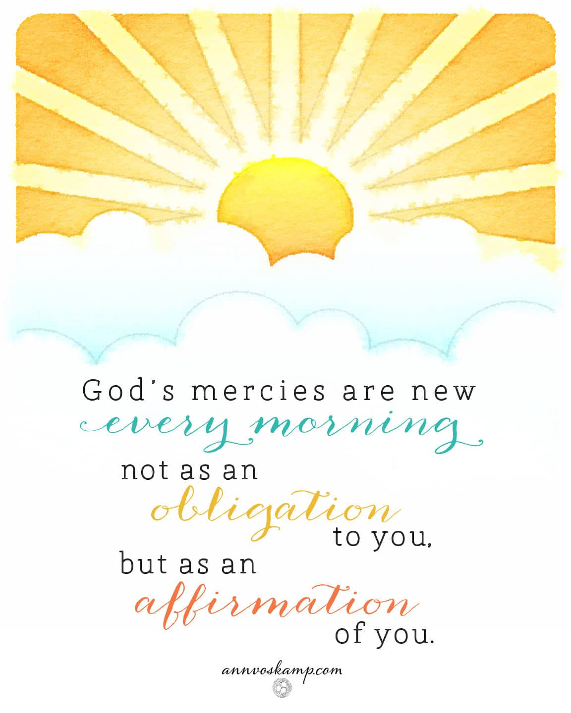 God's Mercies Are New