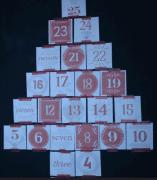 25 Advent Calendar Envelopes (black)