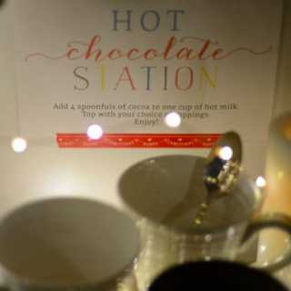 Night Before Advent Hot Chocolate Party