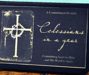 Colossians in a Year: booklet cover
