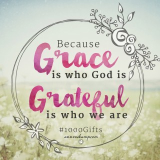 Because Grace is Who God Is