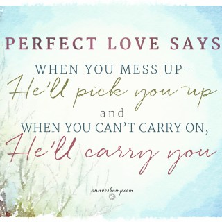 Perfect Love Says