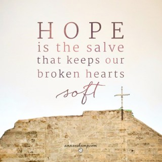 Hope is the Salve