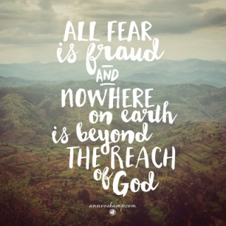 All Fear is Fraud