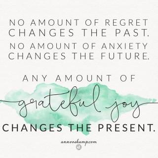 No Amount of Regret