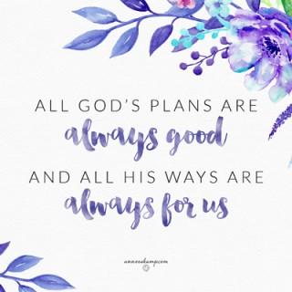 All God's Plans