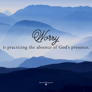 Worry is practicing