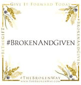 BeTheGIFT card: Broken and Given