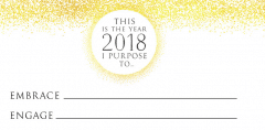 This is the year I purpose to