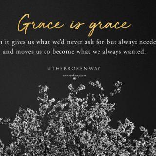 Grace is grace