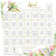 April beTheGift Calendar
