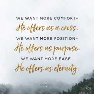 We want more comfort