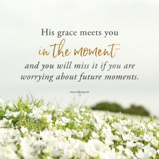 His grace will meet you