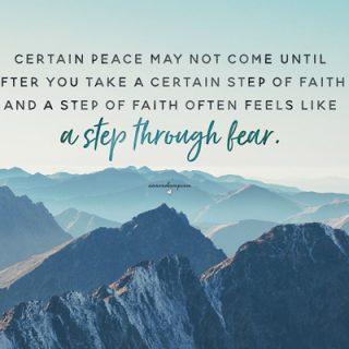 Certain peace