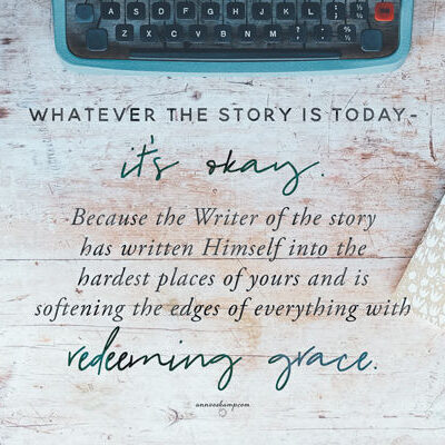 Whatever the story is today