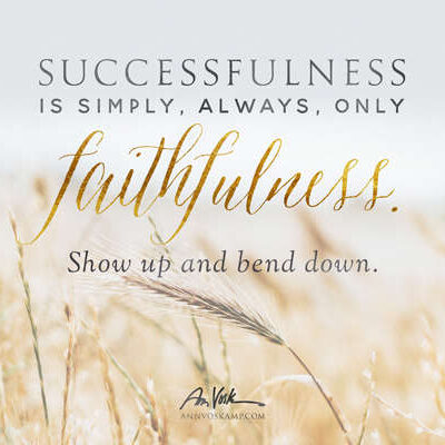 Successfulness is simply