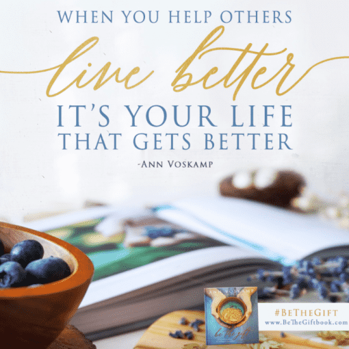 When you help others live better