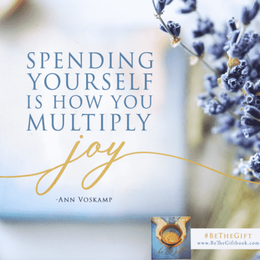 Spending yourself
