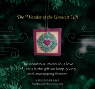 Posts similar to: Unwrapping the Greatest Gift family advent ...   180x192
