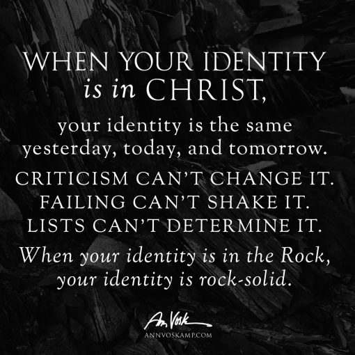 When your identity