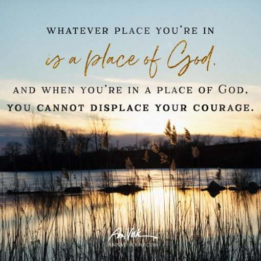 Whatever place you're in