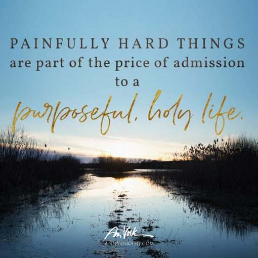 Painfully hard things