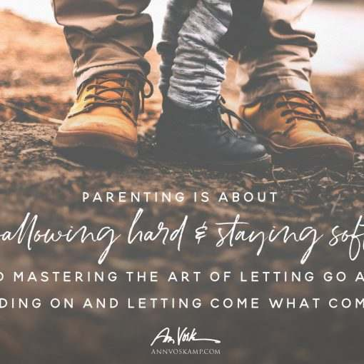 Parenting is about