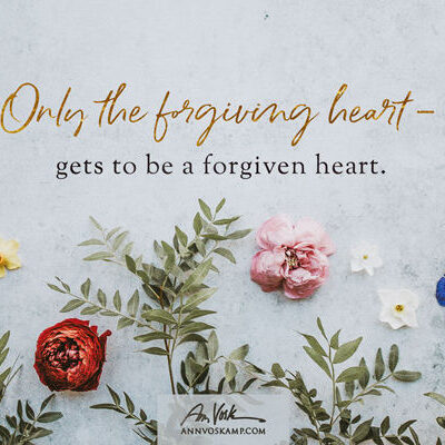 Only the forgiving
