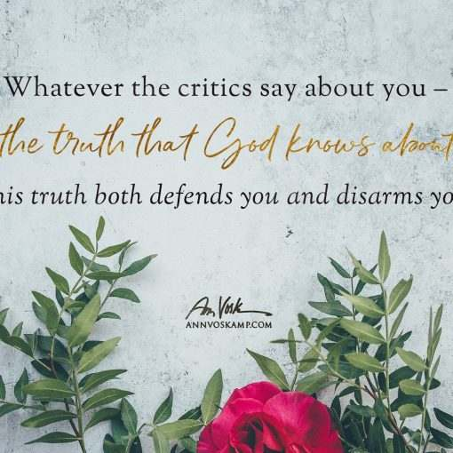 Whatever the critics