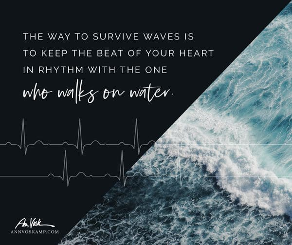 The way to survive waves