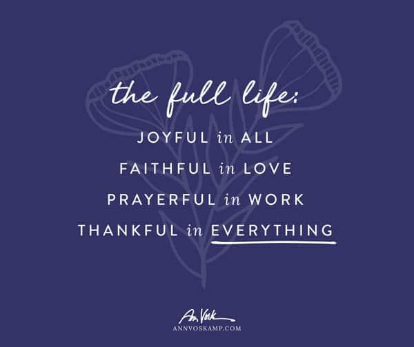The Full Life