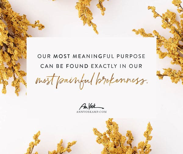 Our most meaningful purpose