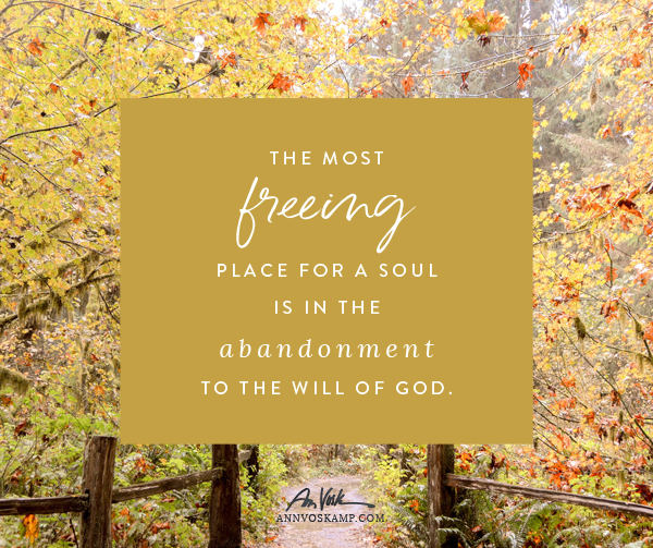 The Most Freeing Place For a Soul