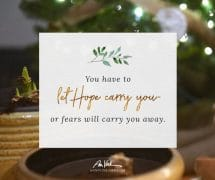 Let Hope Carry You