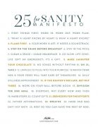 25-Point Sanity Manifesto – v2