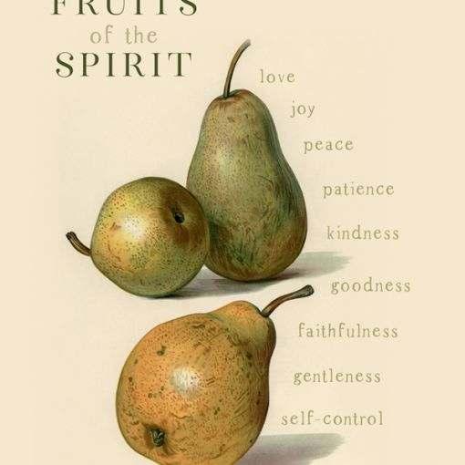 Fruits of the Spirit Print