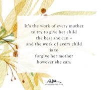 The Work of Every Mother