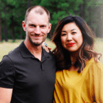 Ruth Chou and Troy Simons