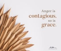 Anger is contagious…