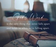 God's Word…